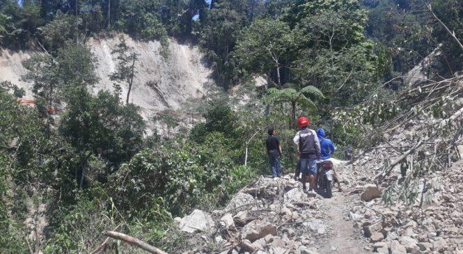 Sempat terputus, jalur darat Palu menuju Kulawi sudah dibuka, skema buka tutup diberlakukan