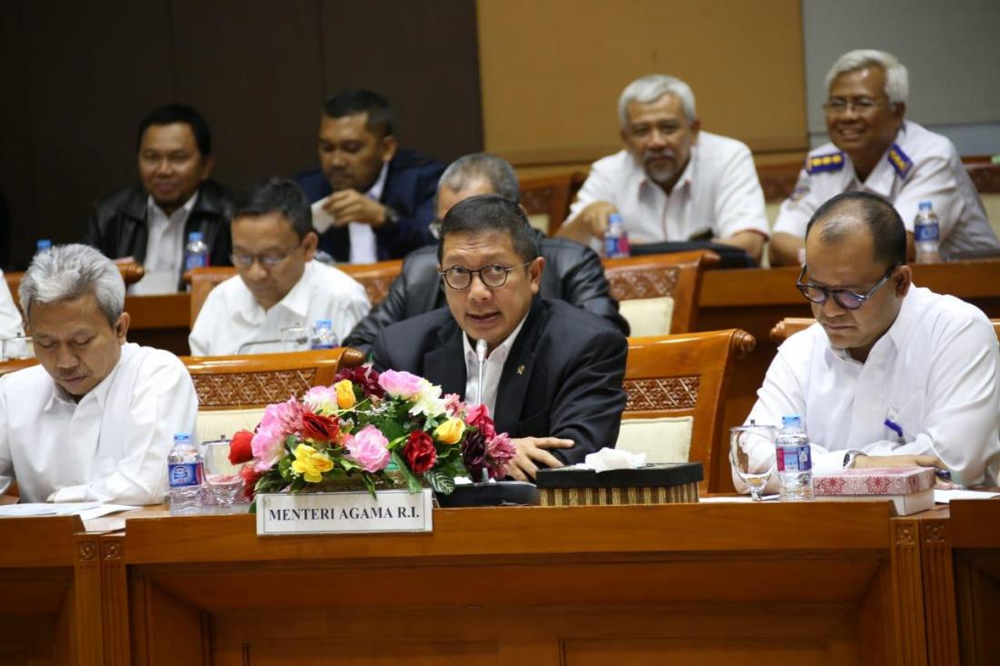 Pemerintah Bentuk Panitia Kerja Biaya Penyelenggaraan Ibadah Haji Tahun 1440H/2019M