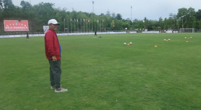 Ajang Bali International Football Championship (IFC) 2018 Jadikan Stadion Beji Mandala Berstandar Internasional