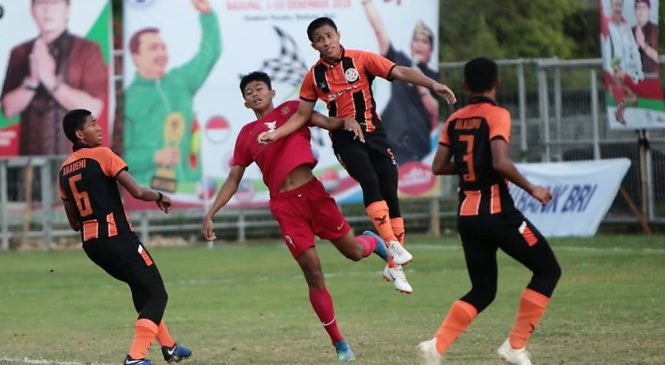 Final Bali International Football Championship (IFC) 2018, Dua Tim Indonesia Bertemu
