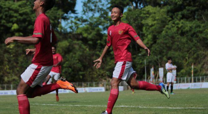 Masuk Semi Final IFC 2018, Timnas Pelajar U-15 Indonesia Taklukan Busan FC Korsel