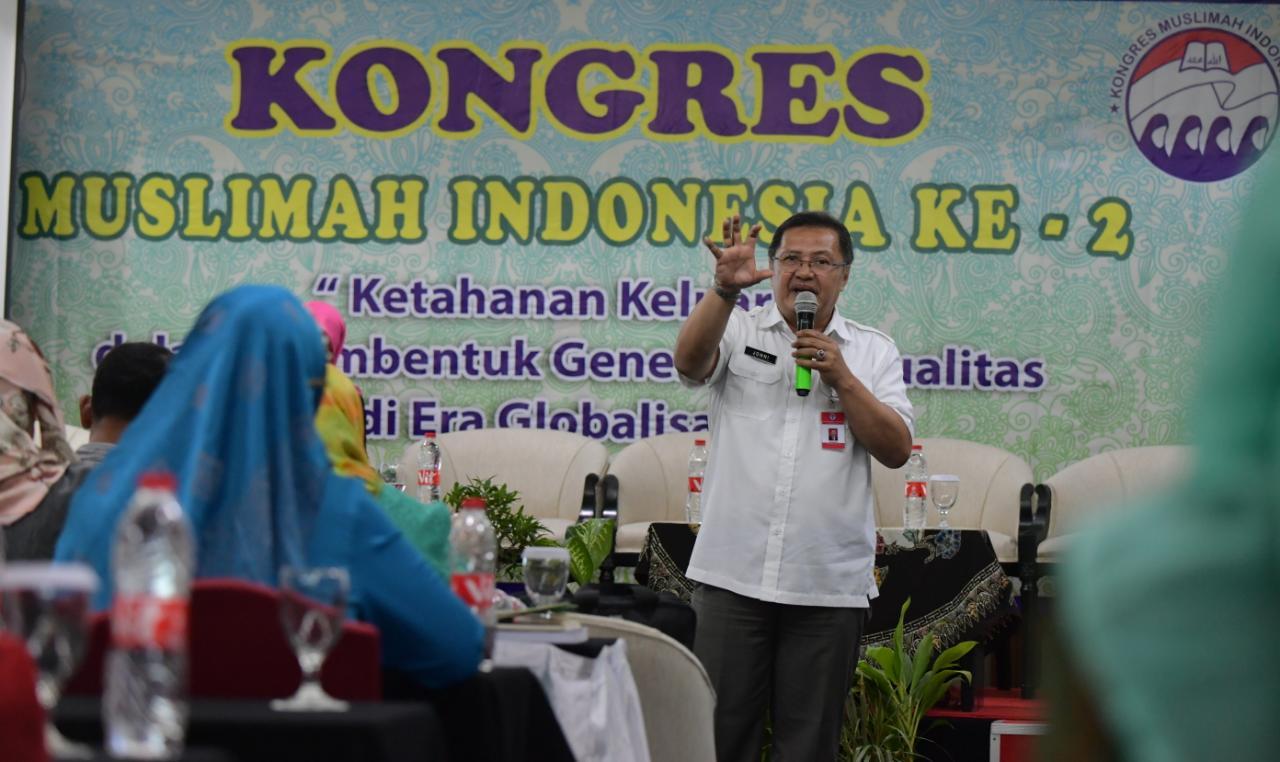 Kongres Muslimah Indonesia ke-2: Tangkis Ancaman Narkoba Melalui Penguatan Ketahanan Keluarga