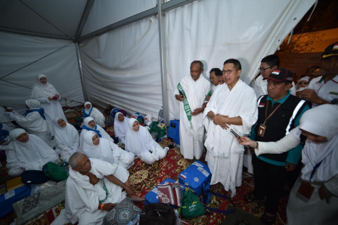 Kuota Haji Indonesia Tidak Akan Ditambah Sebelum Tenda Mina Memadai Jamaah