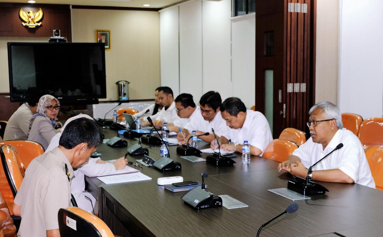 Rapat Program National Urban Development Program(NUDP) Guna Pengembangan Daerah