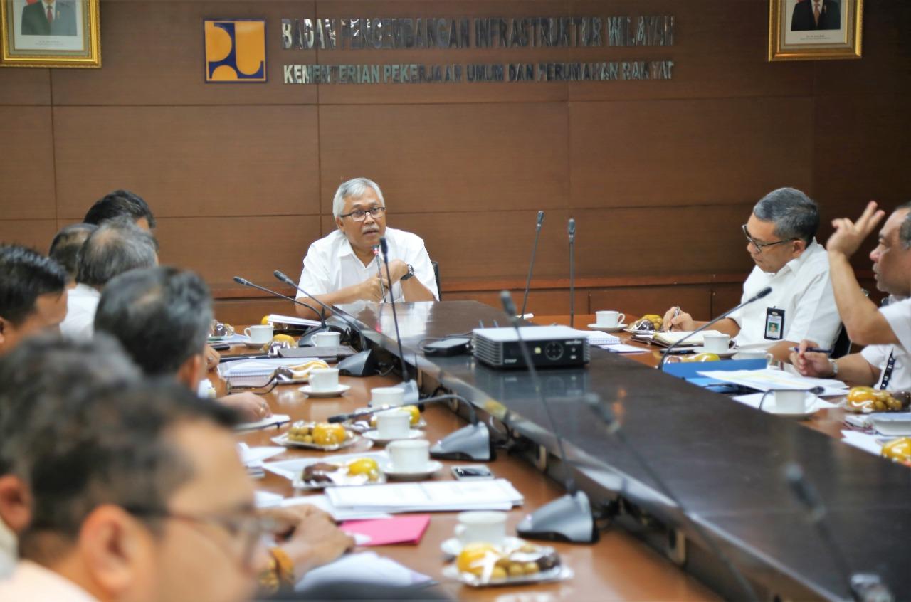 Kementrian PUPR Gelar Rapat Koordinasi terkait Pembangunan Hunian Tetap Korban Bencana Sulteng