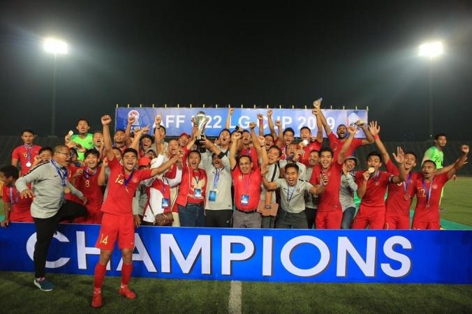 Timnas Indonesia Jadi Juara AFF U-22 Tahun 2019