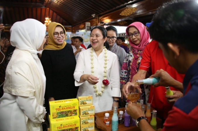 Menko PMK Canangkan Sukoharjo jadi Sentra Wisata Jamu Indonesia