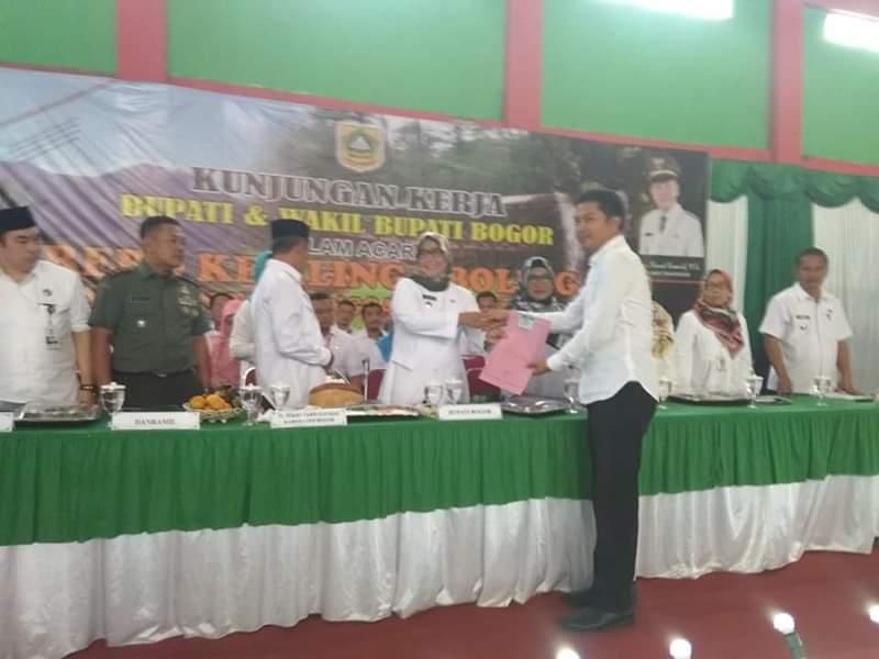 Boling Bupati Bogor, Warga Minta Jalan Dan Irigasi Diperhatikan