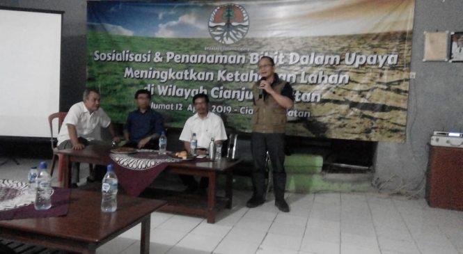 Ratusan Petani Cianjur Antusias Ikut Sosialisasi BPDASHL Citarum Ciliwung