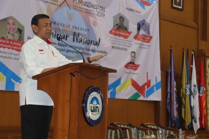 Menko Polhukam: Dalam Satu Hari, 30 Rakyat Indonesia Meninggal Karena Narkoba