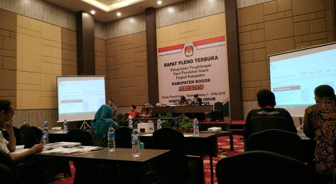 Hasil Rapat Pleno Kabupaten Bogor, Hanya 8 Parpol Lolos ke Senayan
