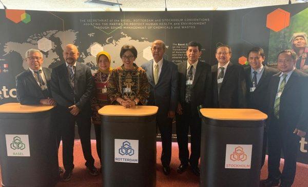 Indonesia Bahas Pengelolaan Sampah di Konvensi Basel, Konvensi Rotterdam dan Konvensi Stockholm