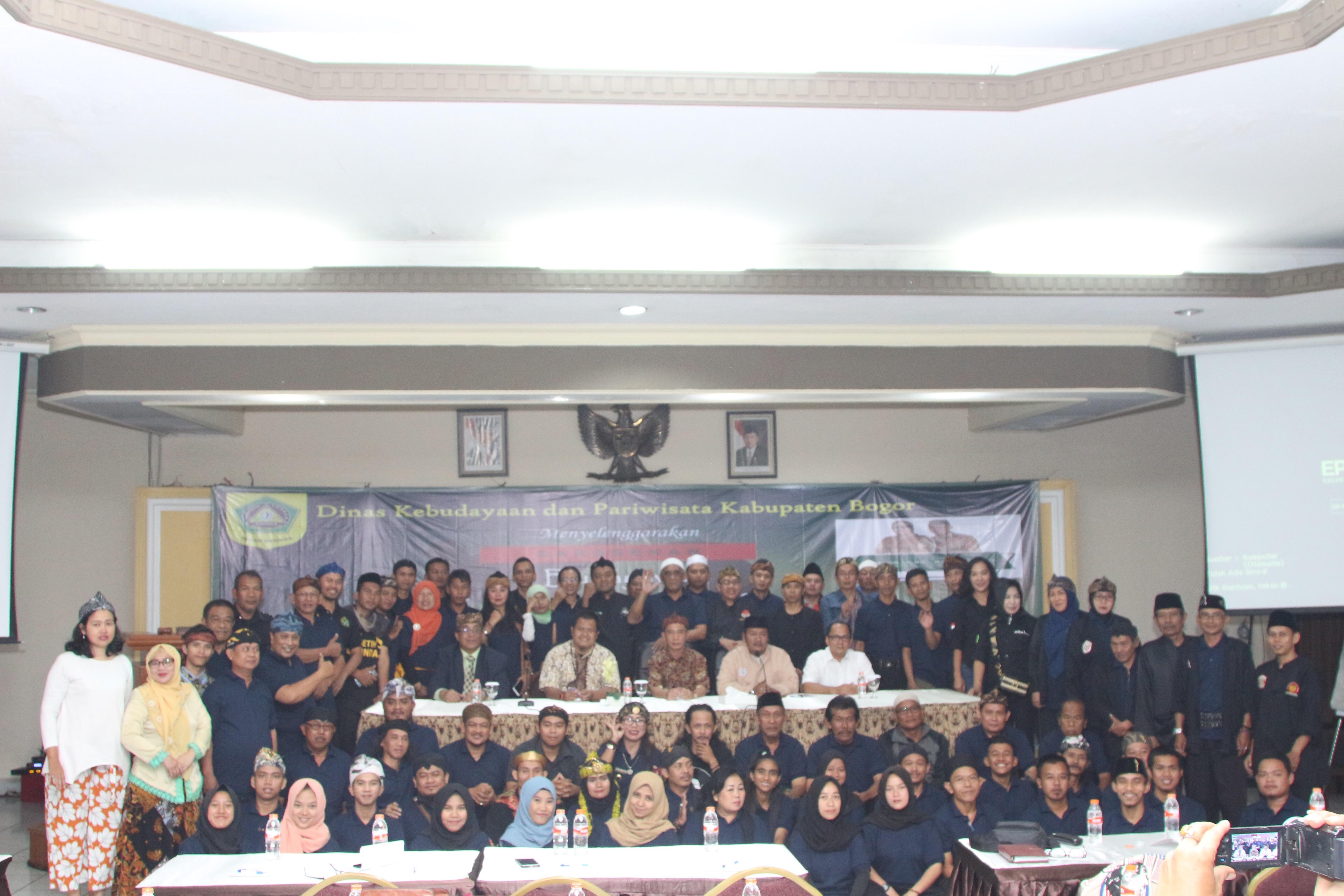 Sarasehan Budayawan Pencak Silat Kabupaten Bogor Mengusulkan Penguatan Budaya Penca Lokal yang Menginternasional