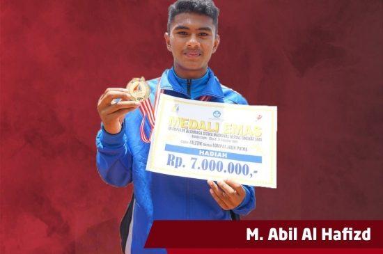 Juarai Lomba O2SN, Siswa SMA ini Mendapatkan Hadiah Umrah Gratis dari Kepala Sekolah