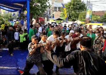 Pendekar Muda Pagar Nusa, Pukau Warga Kota Tangerang di Festival Maulid