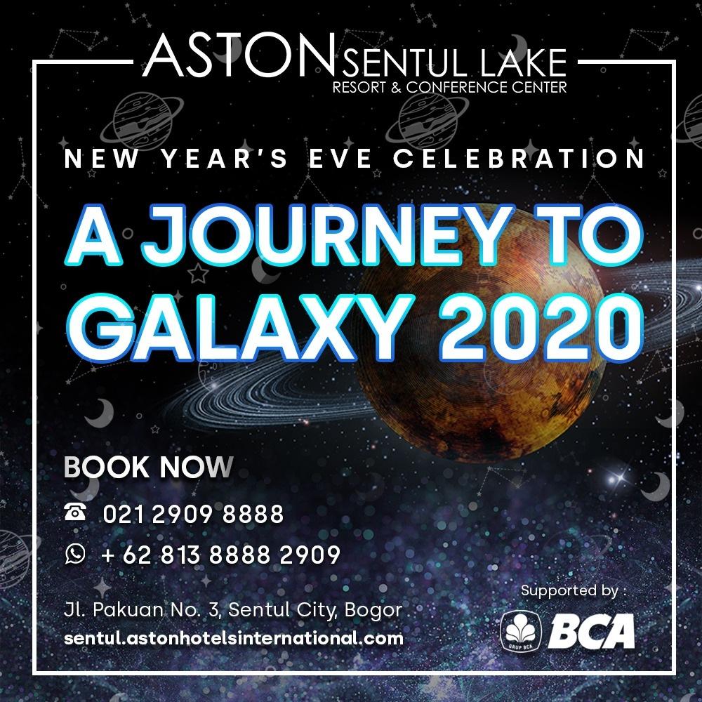 Sambut Tahun Baru, Aston Sentul Lake Siapkan Pengalaman Seru  dengan Tema Luar Angkasa