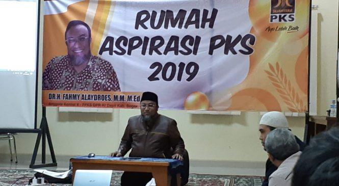 Sambangi DPD, Fahmy Alaydroes Ajak Kader PKS Solid Berkhidmat ke Masyarakat