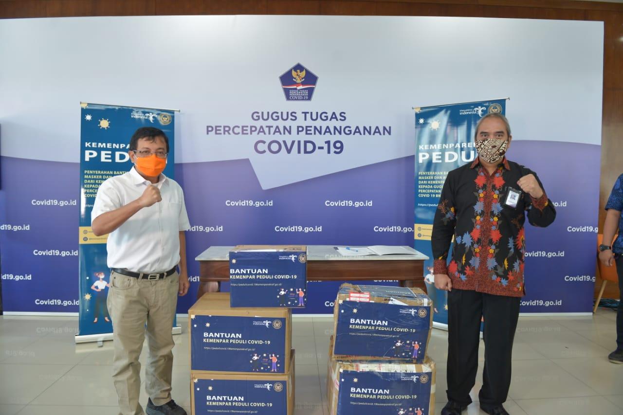 """Pelaku Pariwisata di Tiongkok Balas Kirim Salam """"Jiayou"""" dan Bantu APD untuk Indonesia"""