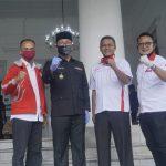 Egi GW : Beri Bantuan APD ke Gubernur Jabar, TMP Ingin Wujudkan Gotong Royong Berskala Besar