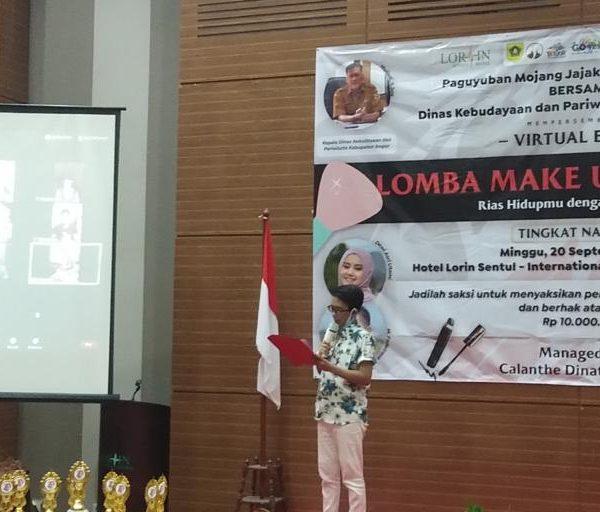 Bersama Paguyuban Moka, DISBUDPAR Kabupaten Bogor Gelar Lomba Make Up Karakter Tingkat Nasional