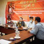 Wujudkan Solidaritas Organik, HUT KAI Bogor Raya Gelar Halal Bihalal Secara Hybrid