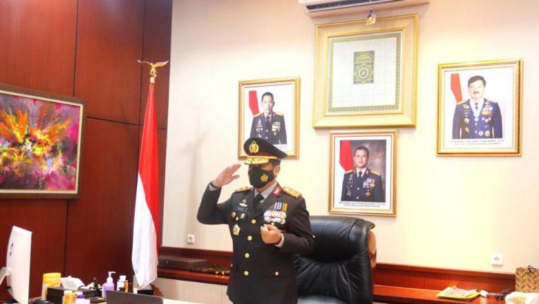 Peringati HUT RI ke-76, Kapolda Banten Ikuti Rapat Paripurna Secara Virtual