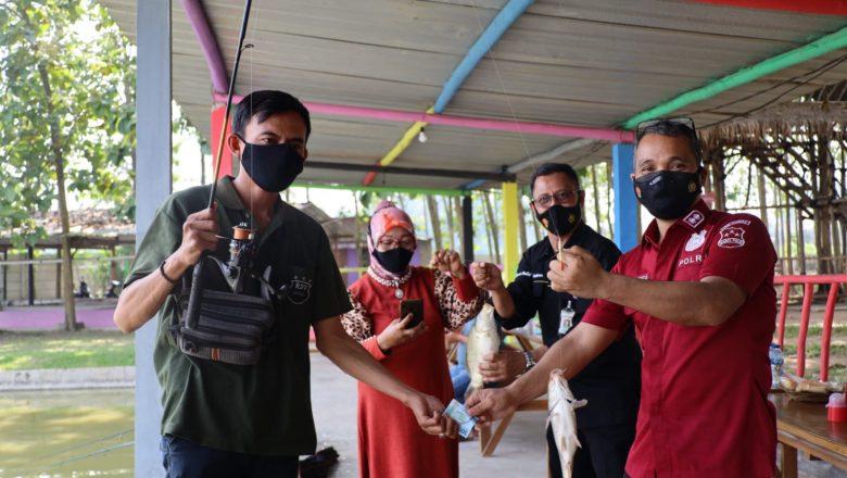 Mancing Bersama Media Mitra Polda Banten , Kabid Humas : Terimakasih Telah Bersinergi
