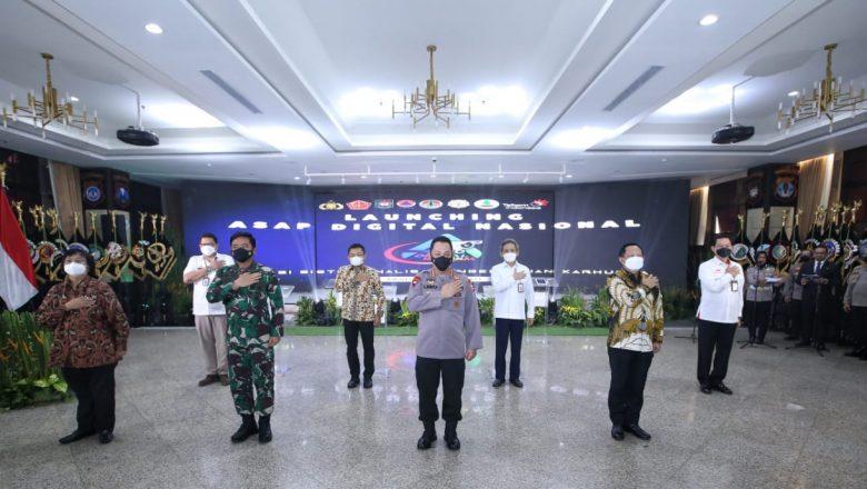 Kapolri Launching ASAP Digital Nasional