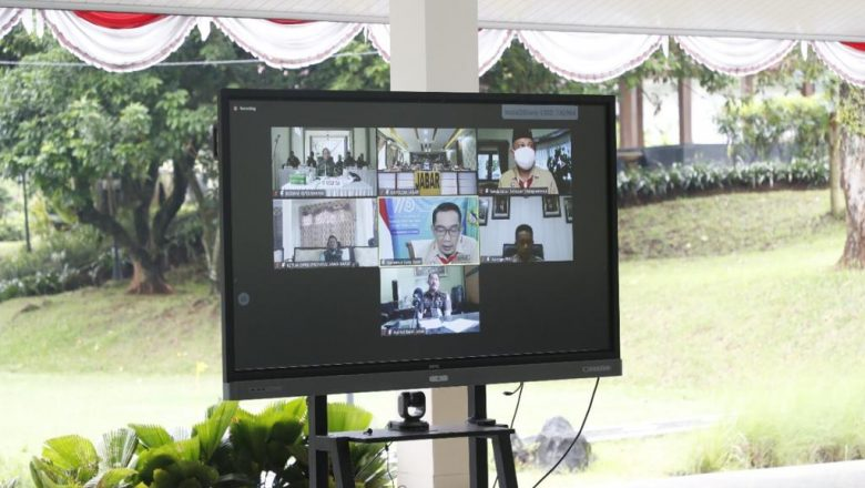 Wabup Bogor Ikuti Arahan Gubernur Soal Penanganan Covid-19