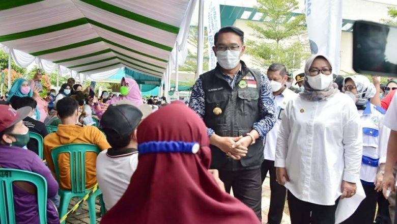 Cakupan Vaksinasi Covid-19 Wilayah Jonggol Melesat di angka 40%