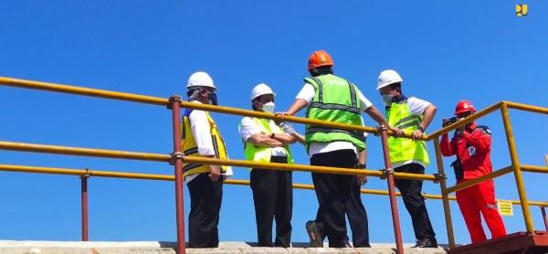 Antisipasi Dampak Perubahan Iklim, Kementerian PUPR Bersama Pemprov DKI Lanjutkan Program Pembangunan Tanggul Panta
