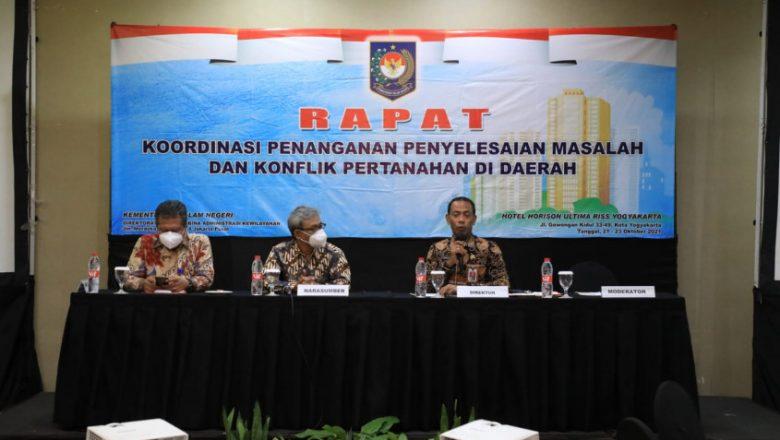 Penyelesaian Masalah dan Konflik Pertanahan di Daerah Jadi Target Kemendagri
