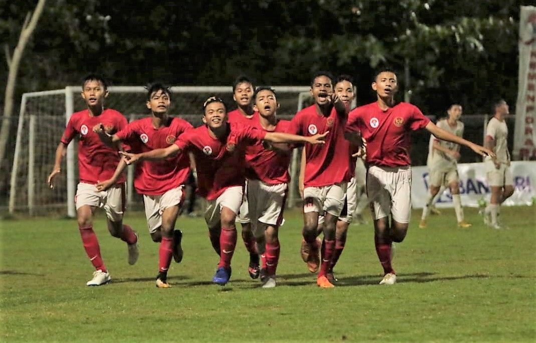 Timnas Pelajar U-15 Indonesia Lolos Final Bali International Football Championship (IFC) 2018