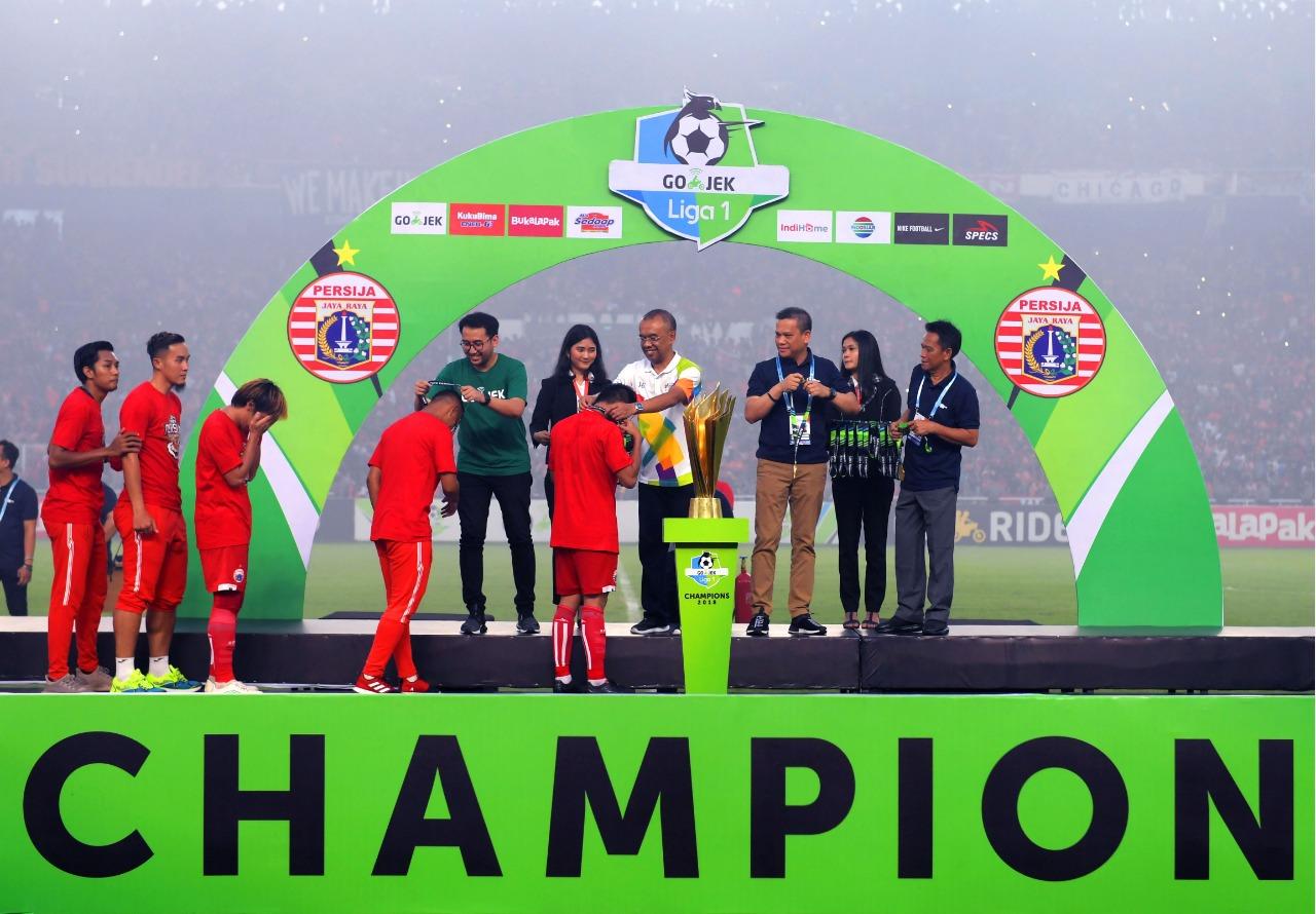 Ucapan Selamat Sesmenpora Kepada Persija Juara Liga 1