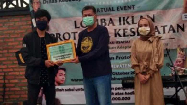 Dinas Kebudayaan dan Pariwisata Kabupaten Bogor Gelar Lomba Protokol Kesehatan