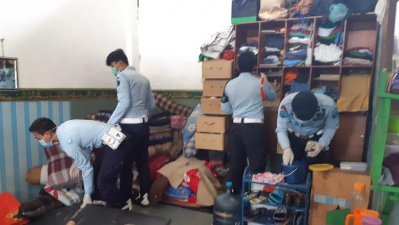 Razia Warga Binaan Petugas Lapas Gunung Sindur Temukan Barang Terlarang dari Kamar Napi