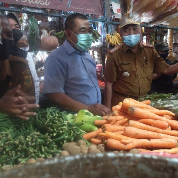 Satgas Ramadhan Pasar pantau Harga Sembako