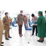 DPRD Tinjau Pelaksanaan Vaksinasi di Tiga Lokasi
