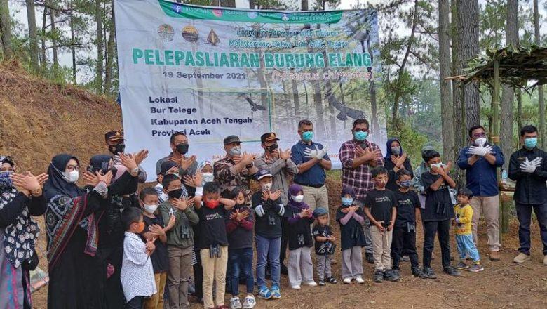 Empat Ekor Burung Elang Dilepasliarkan BKSDA Aceh